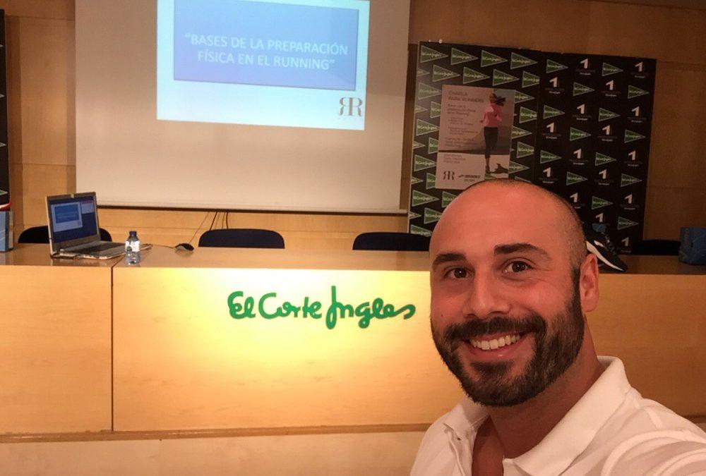 Charla en El Corte Inglés de Santiago de Compostela 19-OCT-2018