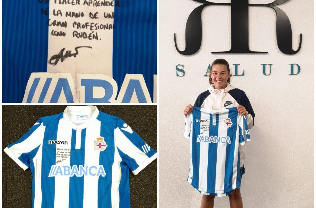 Sofía Rodríguez jugadora del Deportivo de La Coruña